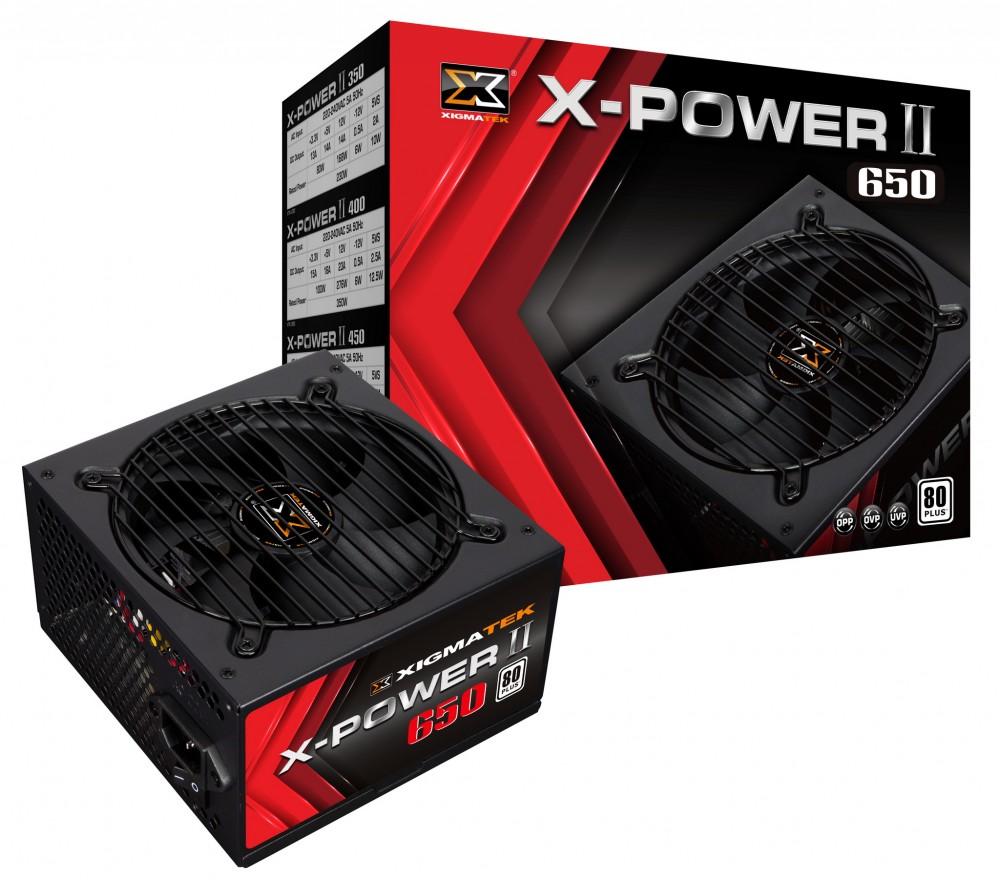 NGUỒN XIGMATEK X-POWER X-650 600W - Hàng chính hãng