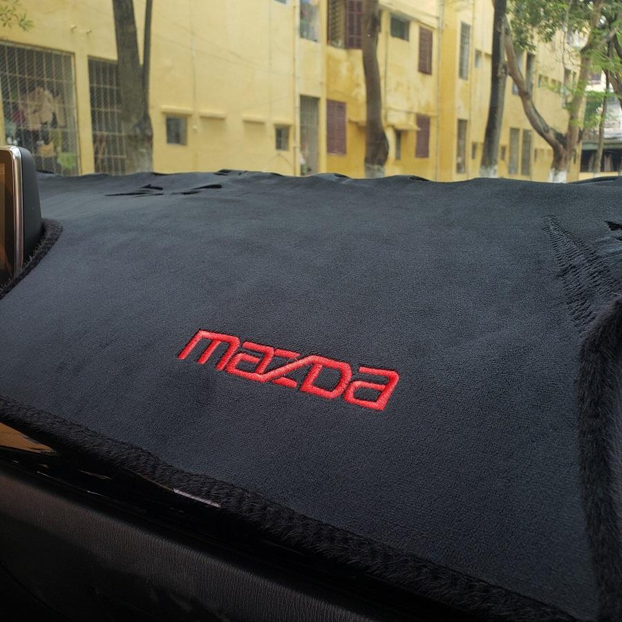 Thảm nhung taplo chống nắng dành cho xe Mazda 3 2015-2019