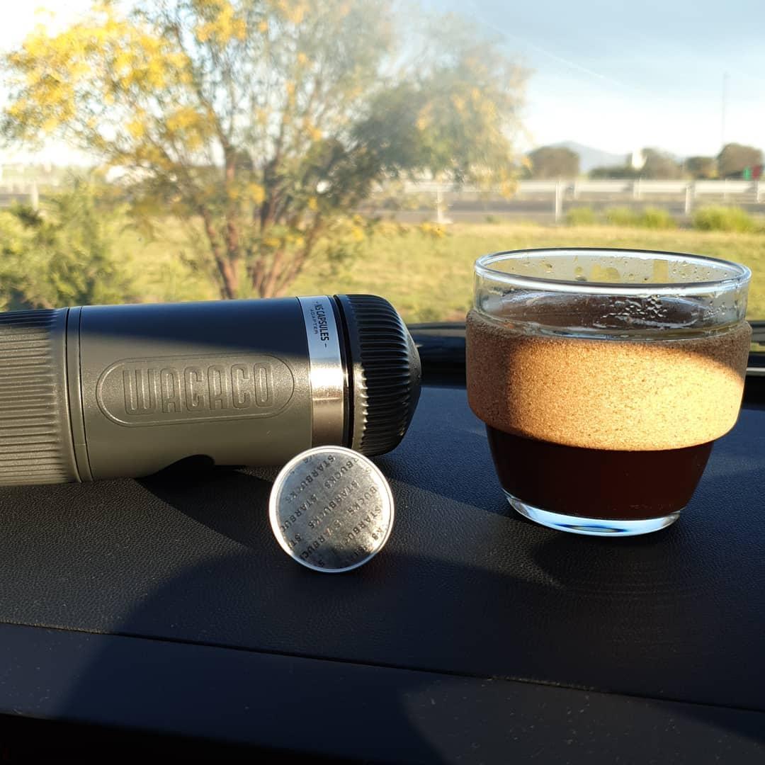 Bộ Chuyển Đổi Cà phê Viên Nén NS Adapter Nanopresso  – Wacaco- Hàng Chính Hãng