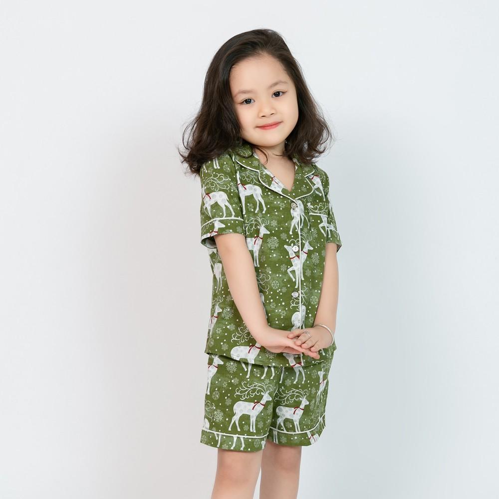 Đồ bộ Pijama bé gái  hình con hươu