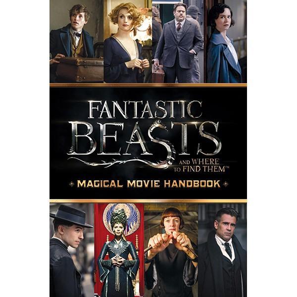 Harry Potter: Fantastic Beasts And Where To Find Them (Paperback) Magical Movie Handbook (Sinh vật huyền bí và nơi ra chúng) (English Book)