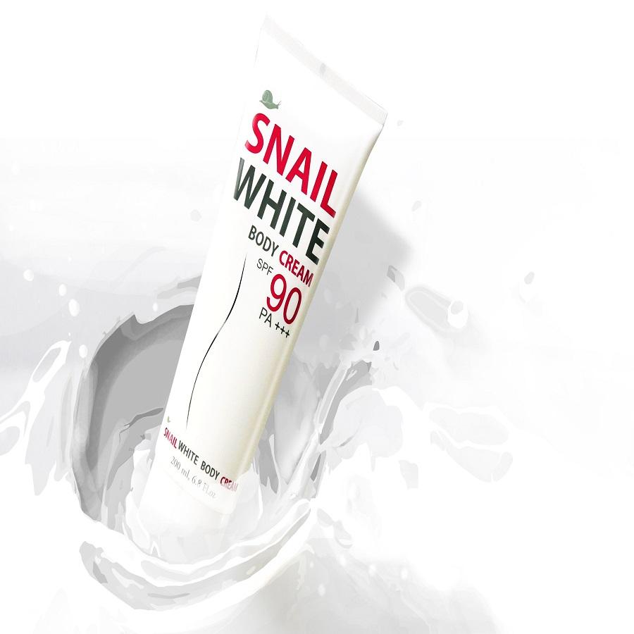 Kem dưỡng trắng da toàn thân Snail White Body Cream