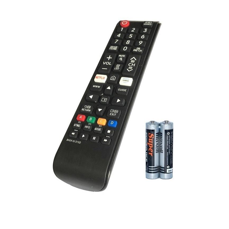 Remote Điều Khiển Dành Cho SAMSUNG Smart Tivi, Internet TV BN59-01315D
