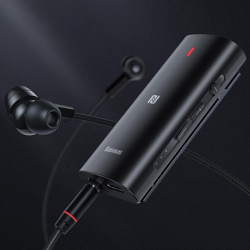 Bộ chuyển đổi Bluetooth Receiver 3D BASEUS BA03 cho tai nghe, loa, thiết bị âm thanh cắm dây-Hàng Chính Hãng