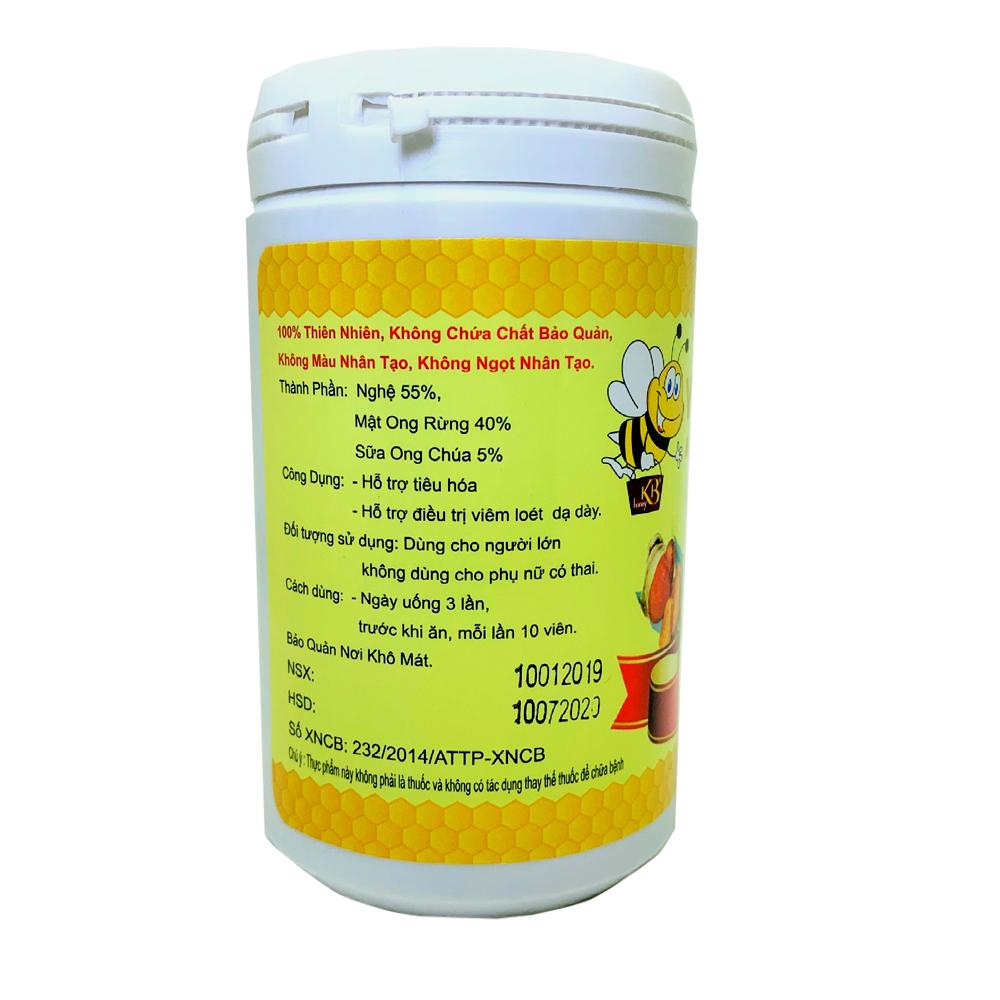 Viên Nghệ Mật Ong Sữa Chúa KB 50G