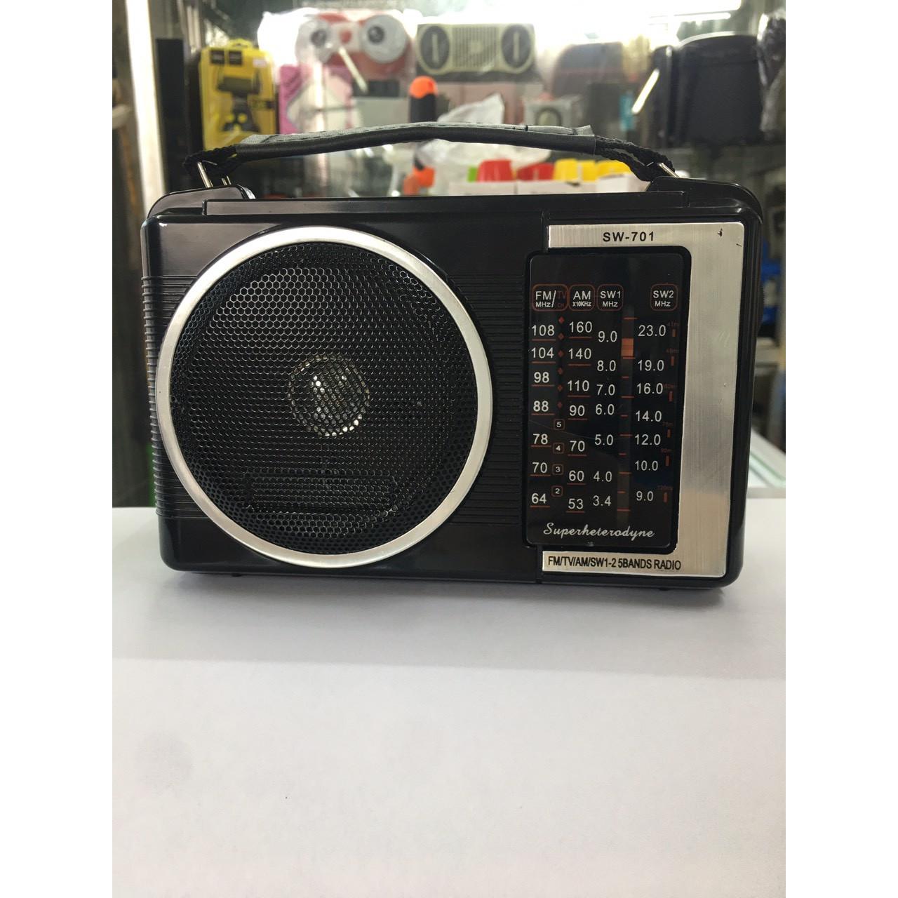 Đài Phát Sóng Radio Cầm Tay
