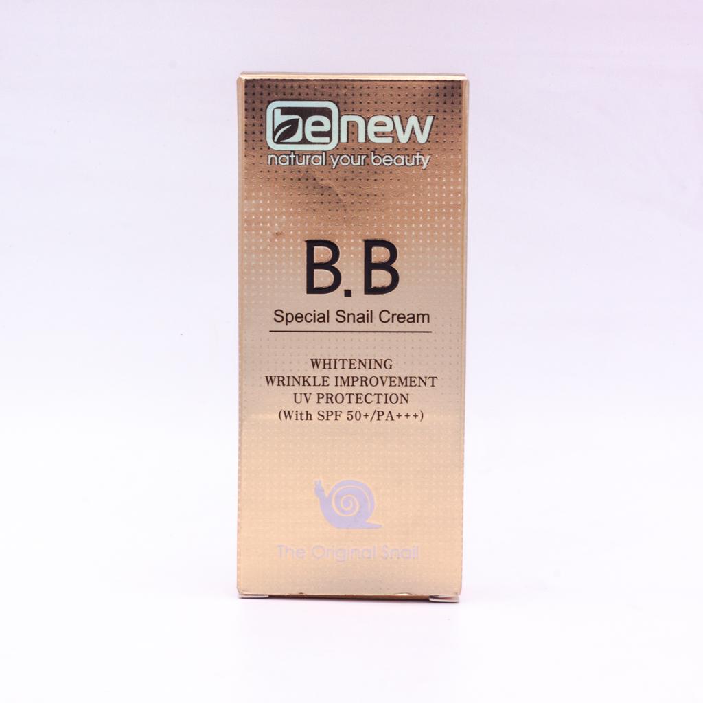 Kem lót nền trang điểm BB cao cấp Hàn Quốc Benew Special Snail (50ml) – Hàng Chính Hãng