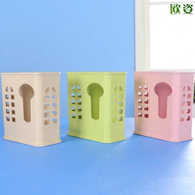 Ống đũa nhựa đẹp 2 ngăn và 3 ngăn chất liệu nhựa đẹp dính hít siêu chắc