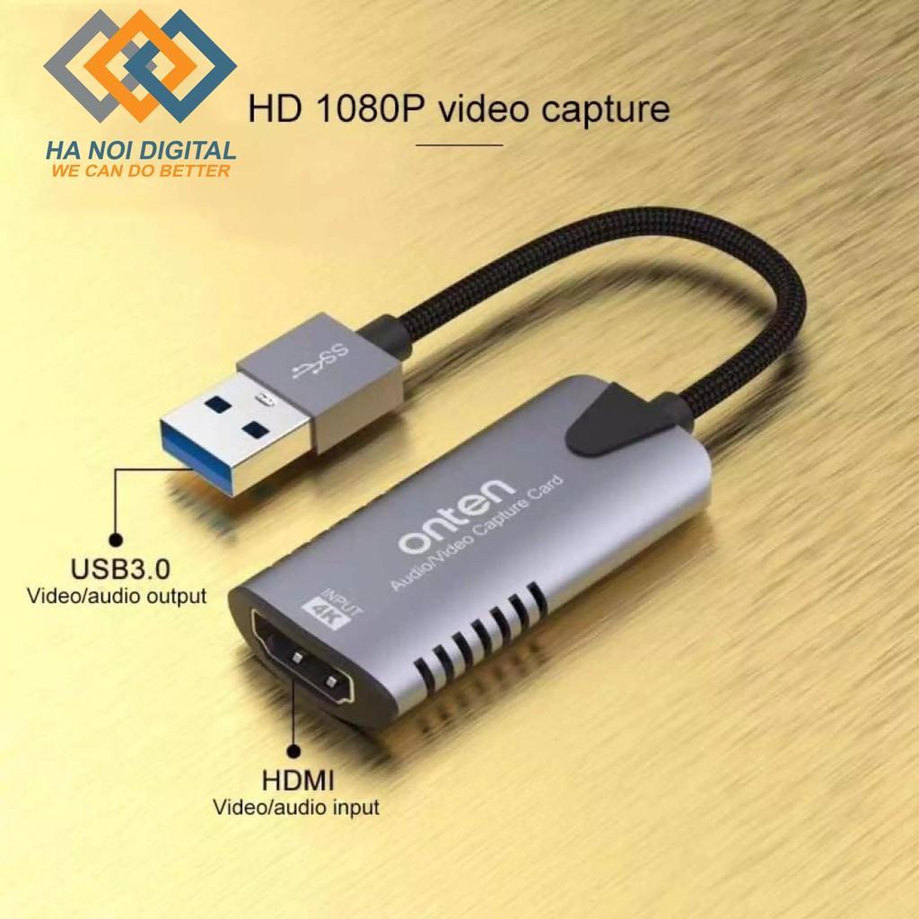 Cáp ghi hình HDMI sang USB 3.0 Onten OTN-US302
