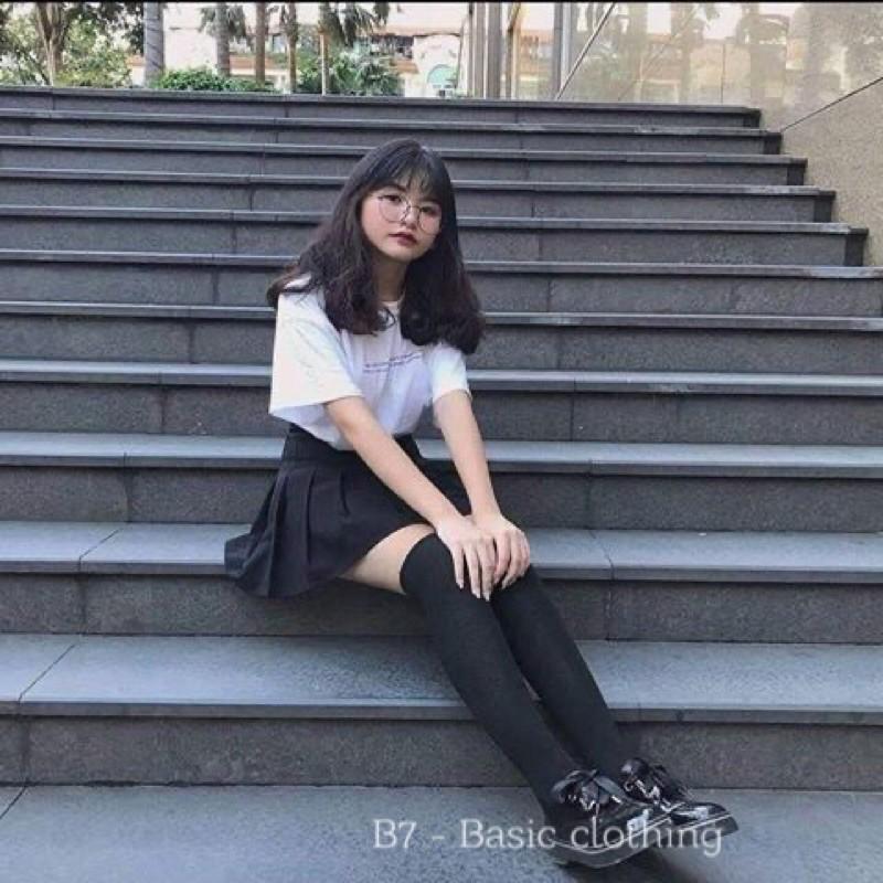 Tất vớ đùi tất cao tới đùi 75cm giữ ấm thời trang Hàn quốc cho nữ
