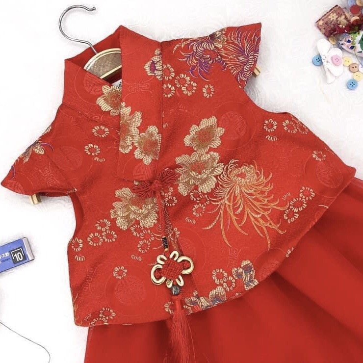 Set hanbok bé gái cực sang SE151