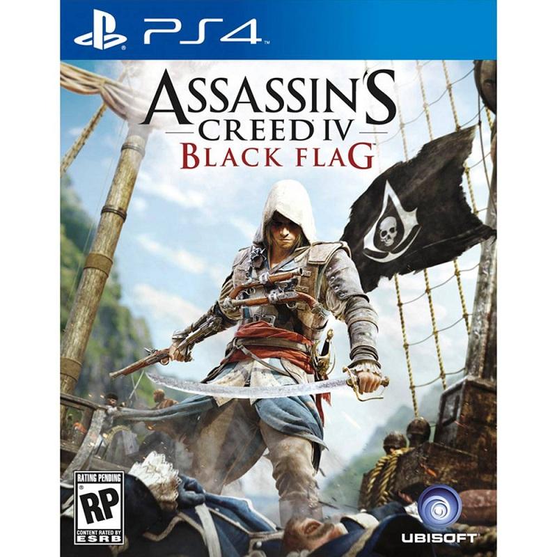 Đĩa Game Ps4: Assassin's Creed IV Black Flag -Hàng nhập khẩu