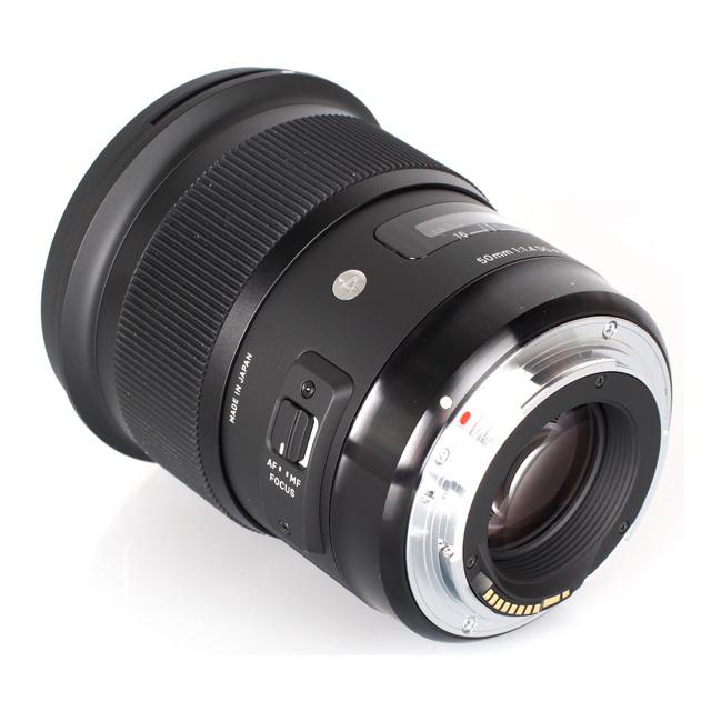 Ống Kính SIGMA 50mm F1.4 DG HSM ART for Sony (Hàng Nhập Khẩu) - Tặng Tấm Da Cừu Lau Ống Kính
