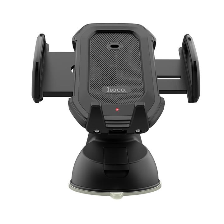 Giá đỡ điện thoại tích hợp cảm biến khóa tự động trên ô tô, xe hơi  Hoco CA32,  Với ổ cắm khí và bảng điều khiển cơ sở, thích hợp sử dụng trên ô tô : kính ô tô, cửa gió điều hoà, hàng nhập khẩu
