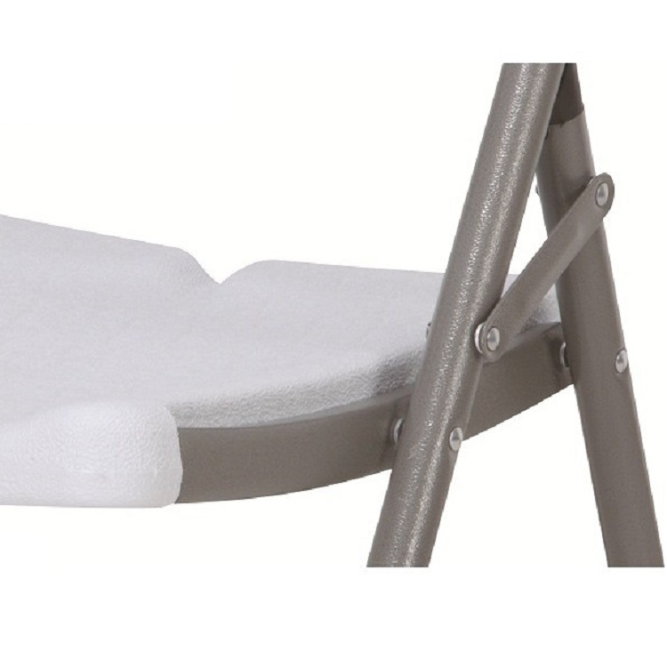 Ghế xếp Thanh Long HY-Y56 (57x46x83 cm) Màu trắng –  thích hợp với không gian của văn phòng, quán ăn, quán café..