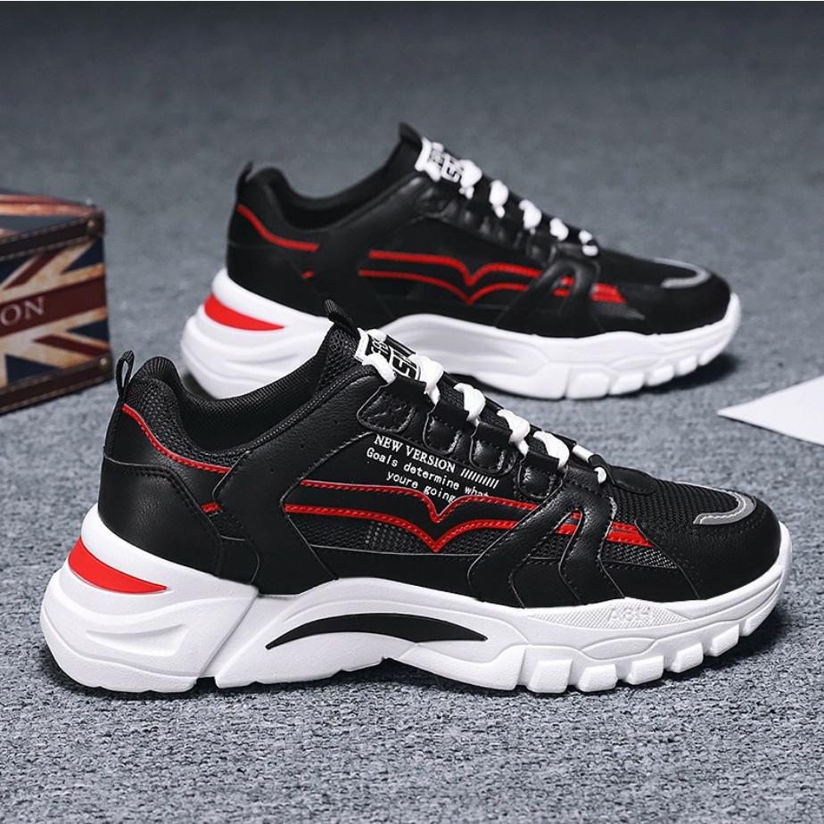 Giày thể thao nam sneaker cổ thấp tăng chiều cao 5cm D364
