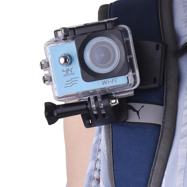 Kẹp ba lô gắn GoPro Hero xoay 360 độ