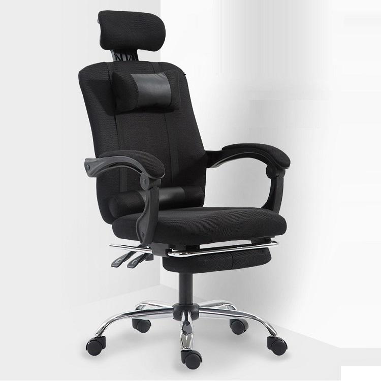 Ghế xoay văn phòng ngả lưng duỗi chân mẫu mới nhất 2021