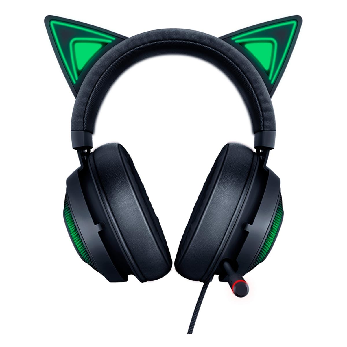 Tai nghe Razer Kraken Kitty (Black) - Hàng chính hãng