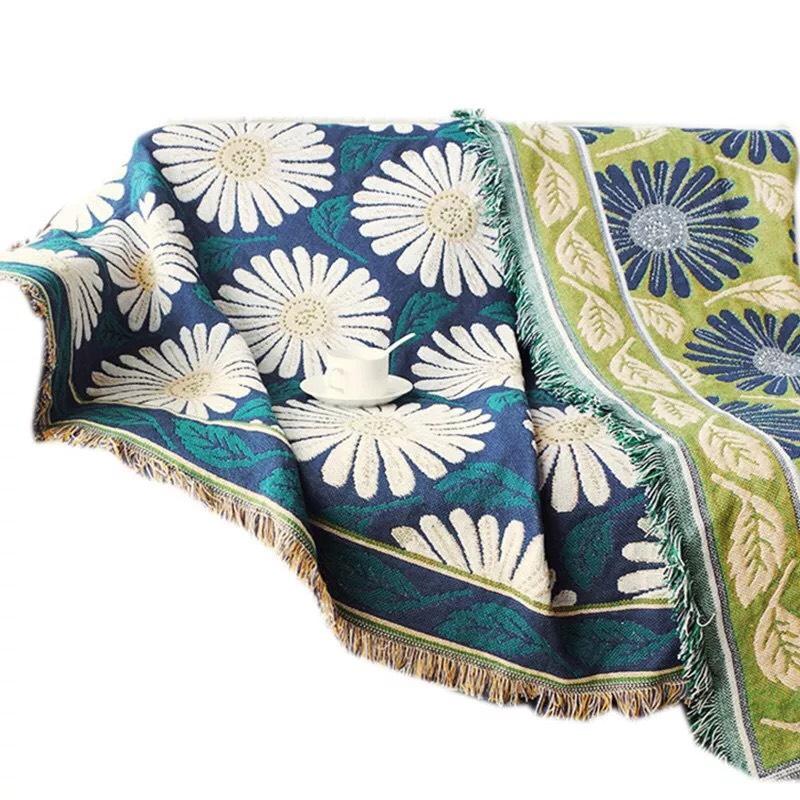 Thảm Vintage, Thảm Sofa, Thảm Trải Sàn Trang Trí, Khăn Phủ Sofa (180x230cm)