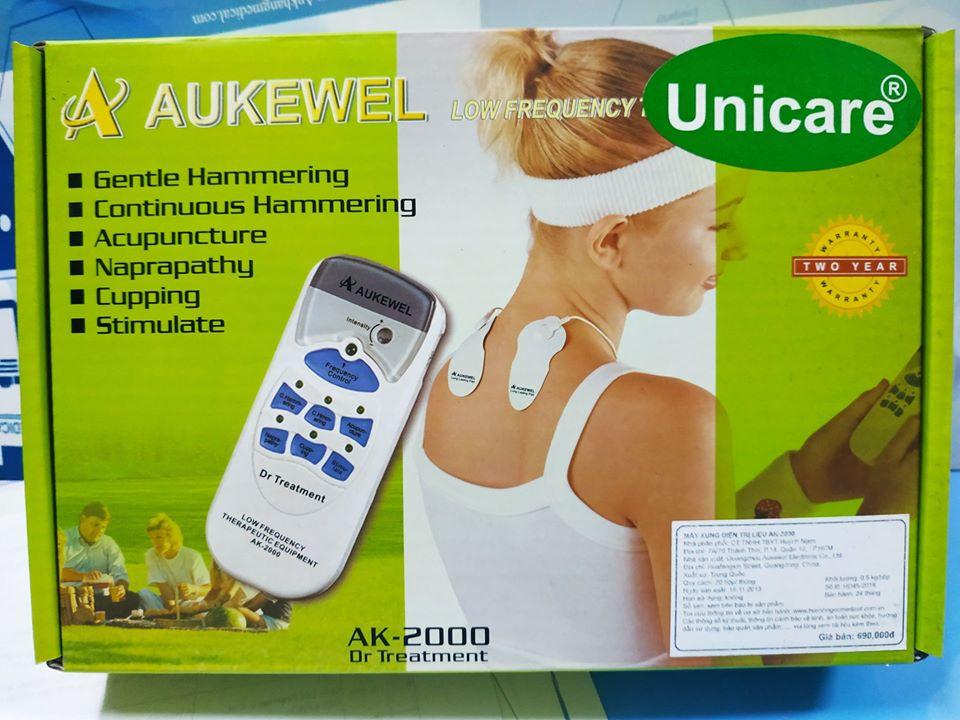 Máy mát xa xung điện Aukewel Dr Treatment AK 2000 tặng dũa sắt