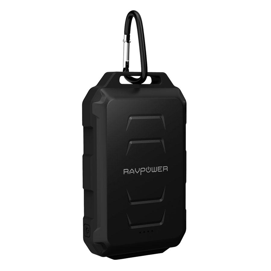 Pin Sạc Dự Phòng RAVPower 10050mAh RP-PB044 Chống Nước Siêu Nhỏ - Hàng Chính Hãng