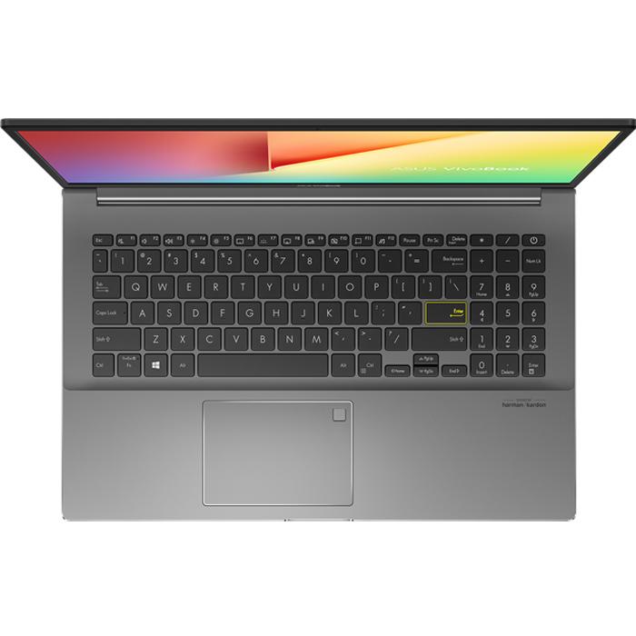 Laptop Asus VivoBook S15 S533EQ-BQ011T (Core i5-1135G7/ 8GB DDR4 3200MHz/ 512GB SSD M.2 PCIE G3X2/ MX350 2GB GDDR5/ 15.6 FHD/ Win10) - Hàng Chính Hãng