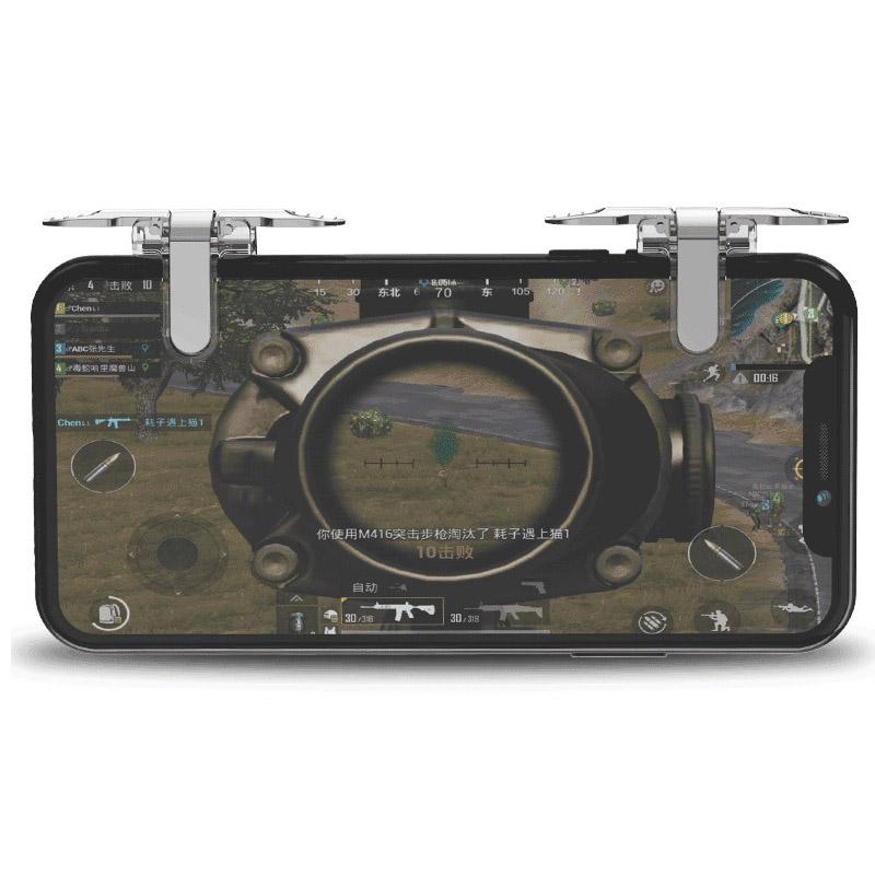 Nút bắn chơi game PUBG, Rules Of Survival bằng kim loại Promax S11 - Hàng nhập khẩu
