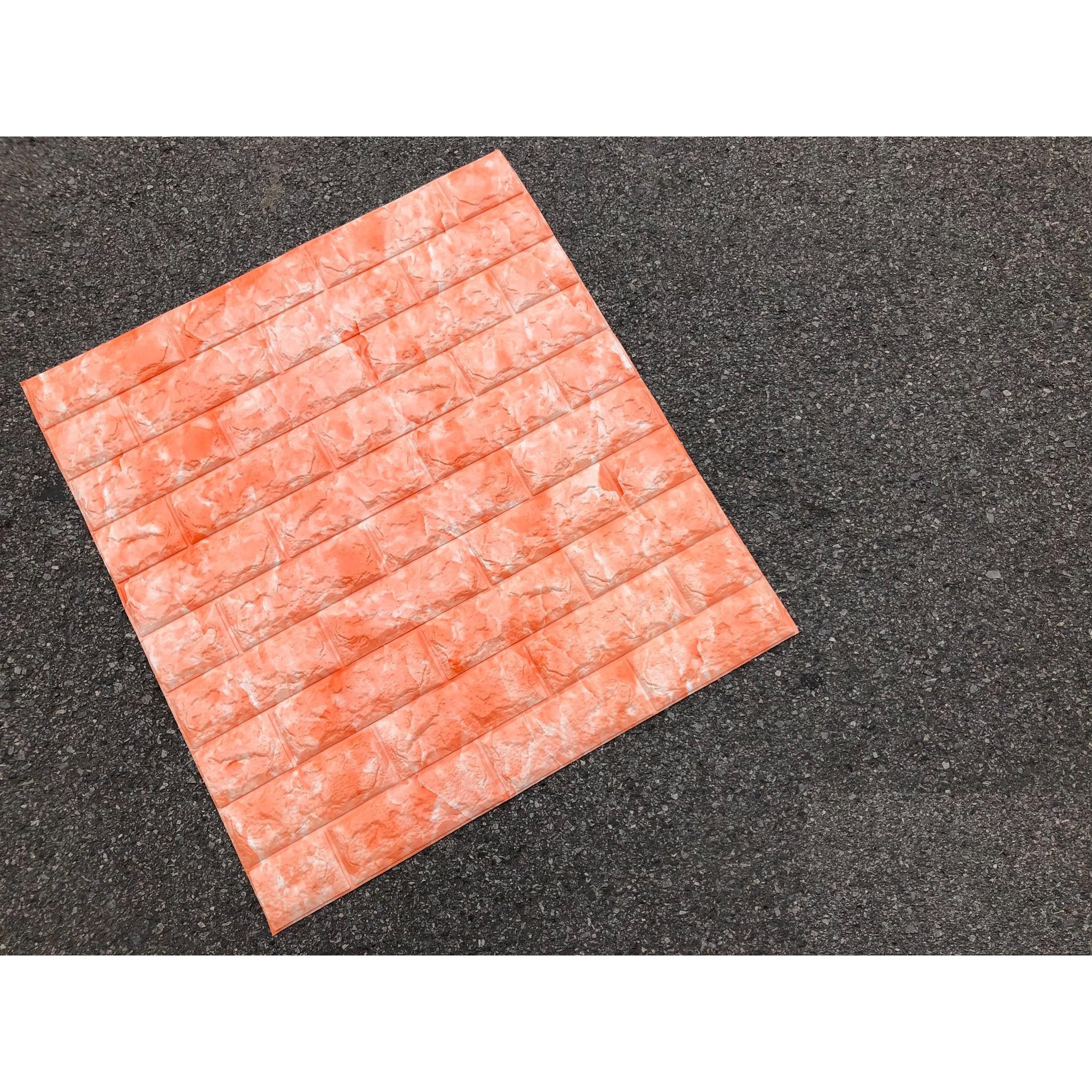 Combo 10 tấm xốp dán tường giả đá
