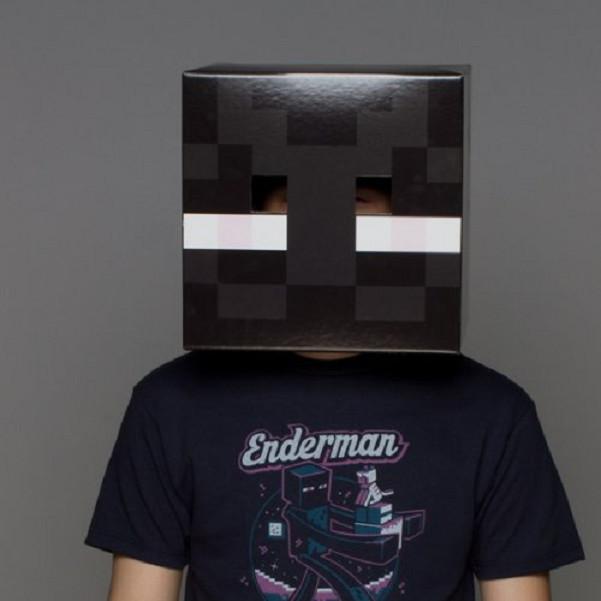 Đầu hoá trang Enderman Minecraft