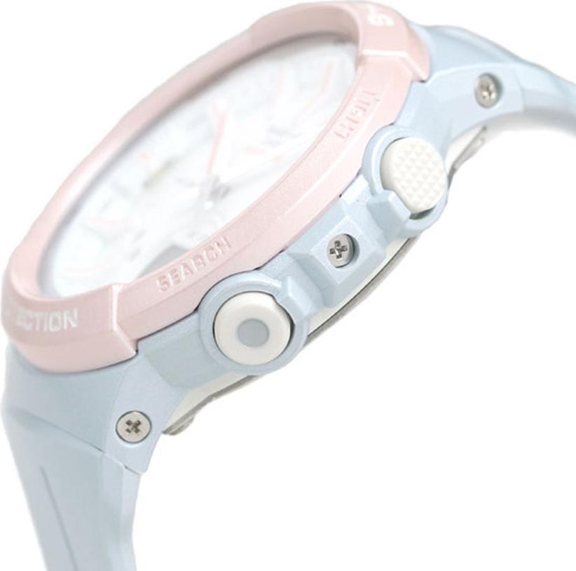Đồng hồ nữ dây nhựa Casio Baby-G chính hãng BGS-100SC-2ADR