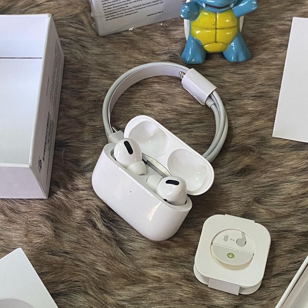 Tai Nghe Bluetooth Airpod Pro ĐIỀU KHIỂN CẢM ỨNG - SẠC KHÔNG DÂY - CẢM BIẾN THÁO TAI NGHE KHỎI TAI SẼ NGỪNG NHẠC