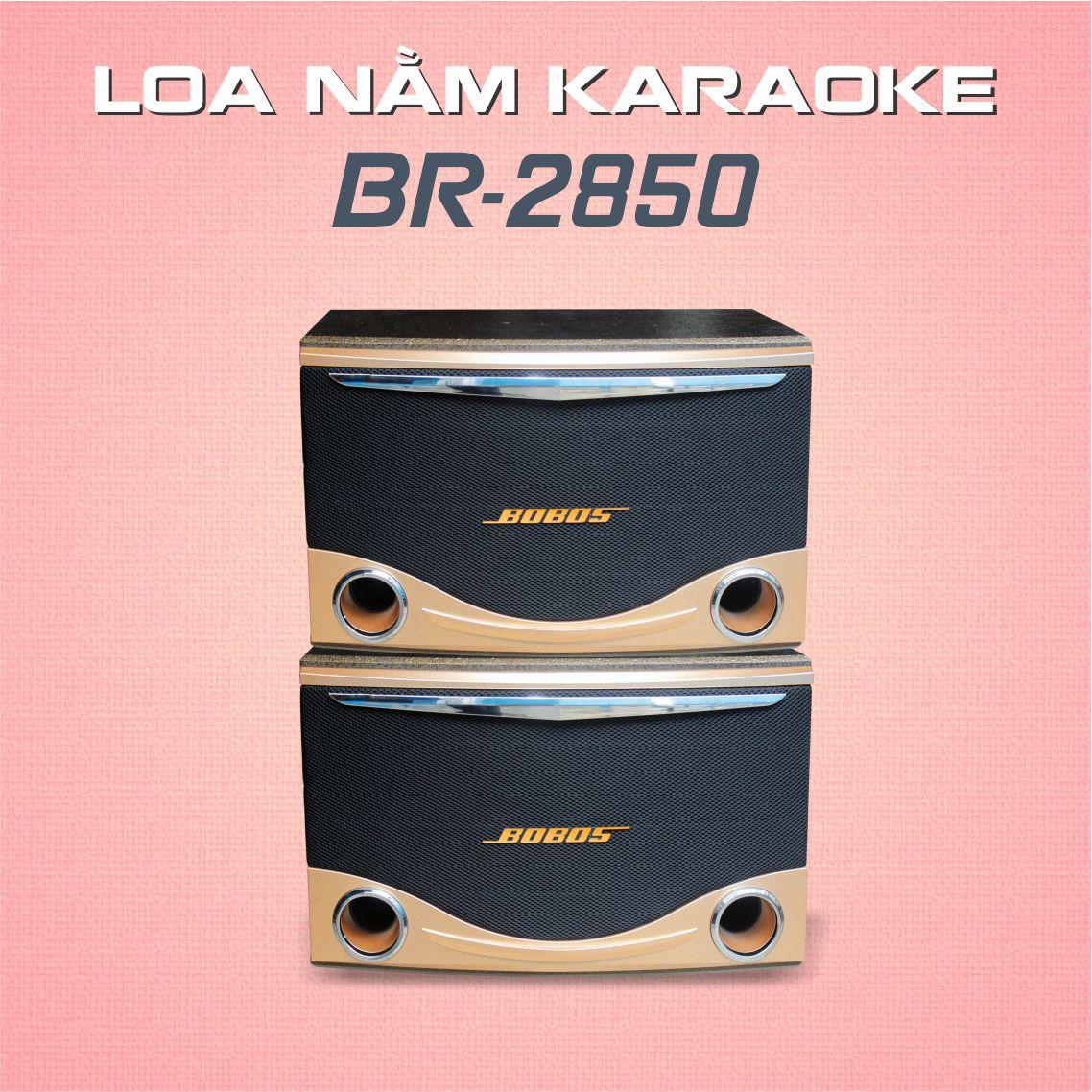 LOA NẰM KARAOKE VÀ NGHE NHẠC BOBOS BR-2850 (Hàng chính hãng) - Loa karaoke
