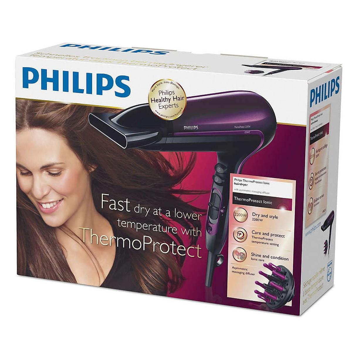Máy Sấy Tóc Philips HP8233 Chính Hãng + Tặng kèm lược tròn sấy