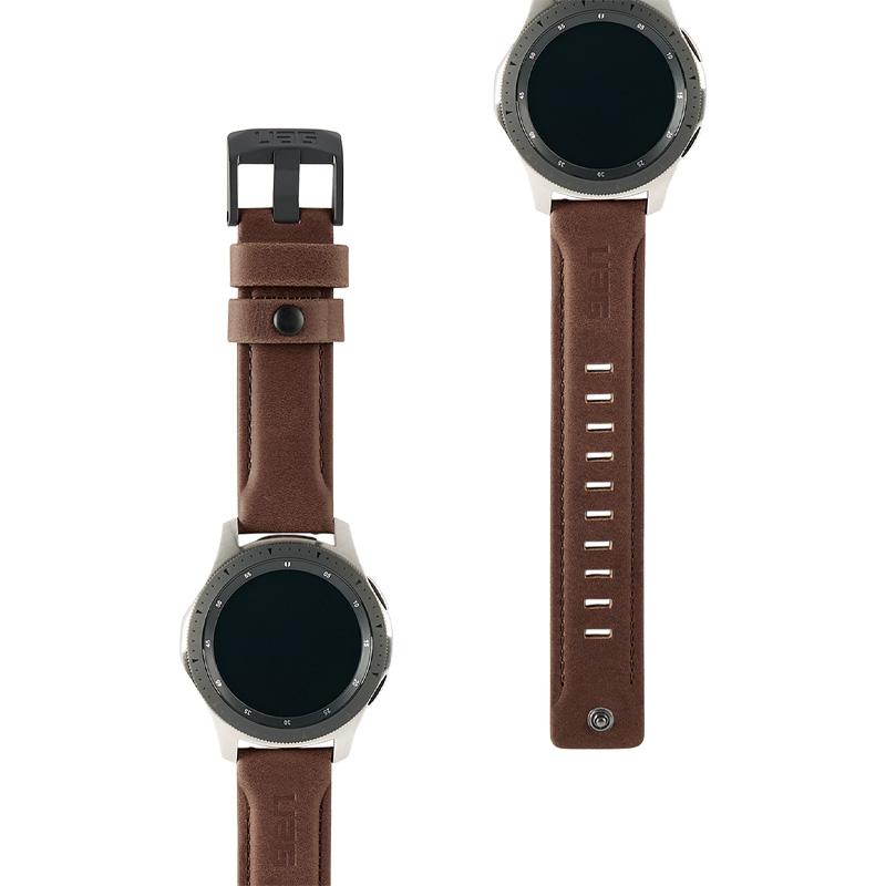 Dây đeo Samsung Galaxy Watch 46mm UAG Leather Series - hàng chính hãng