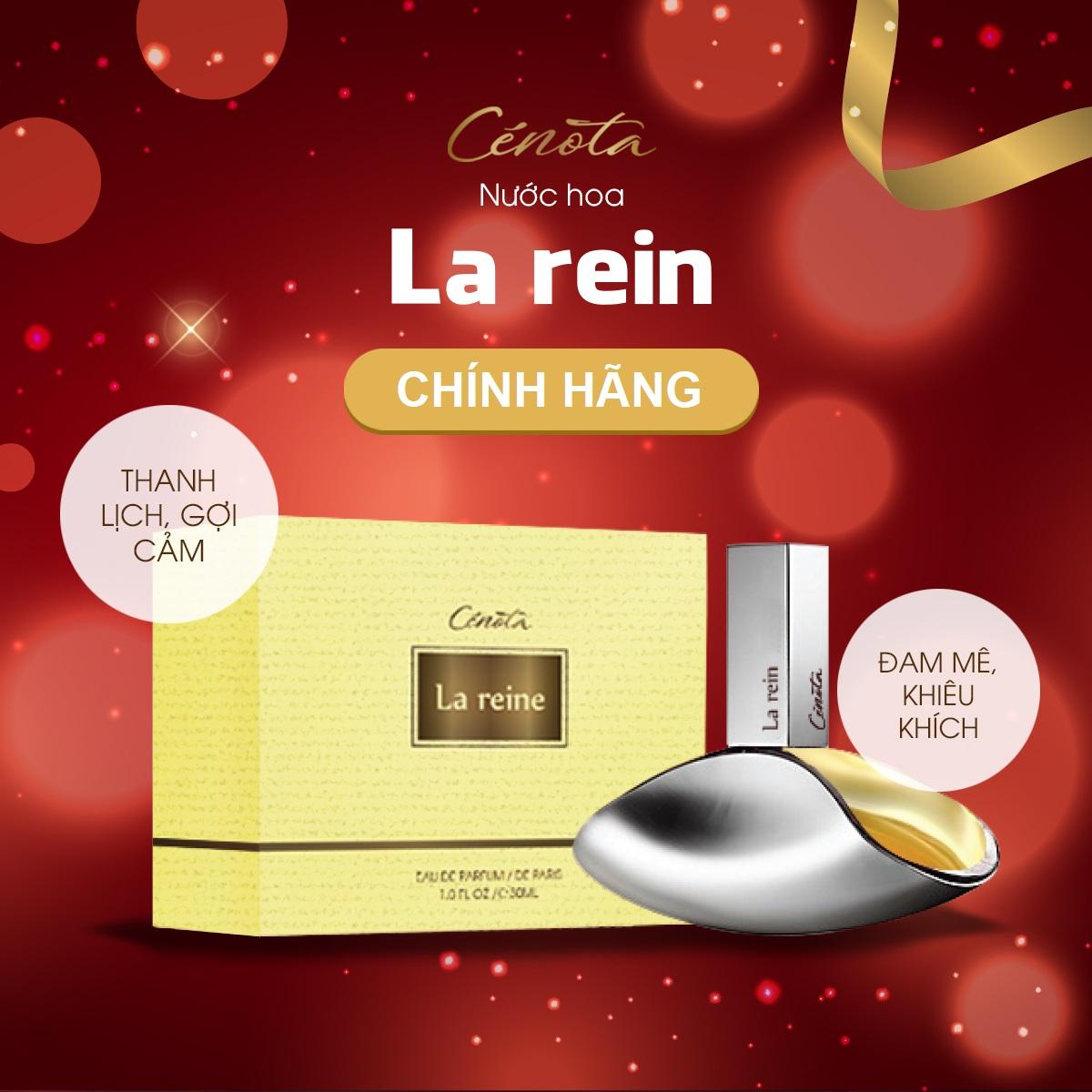 Nước Hoa Nữ Cenota La Reine 30ml Thanh Lịch Gợi Cảm