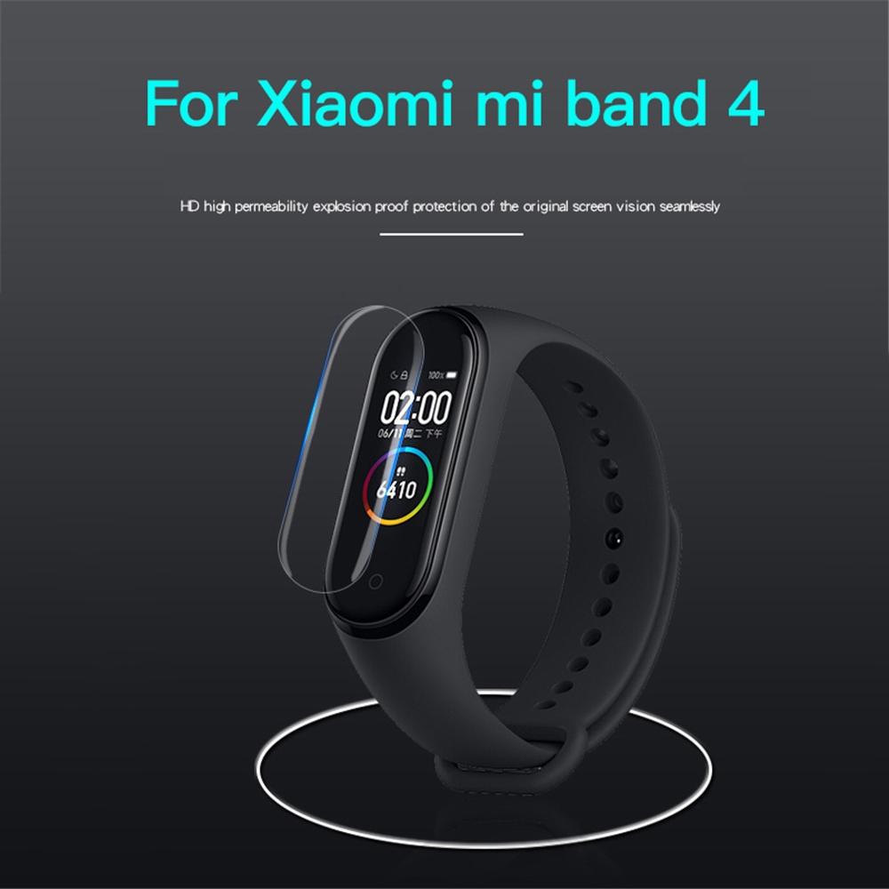 Miếng dán màn hình dành cho Xiaomi Miband 4 - Hàng Nhập Khẩu