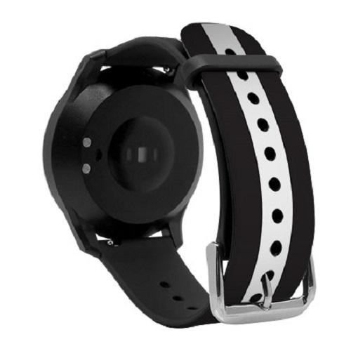 Đồng hồ thông minh đo nhịp tim cao cấp I-gotU Q-90 (Đen trắng) New - Hàng Chính Hãng