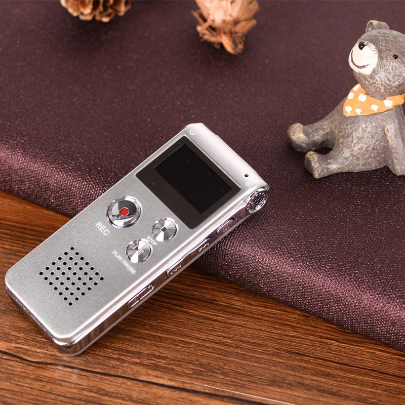 Máy ghi âm stereo chuyên dụng AK-012 8GB Bộ Nhớ Trong 8GB AZONE