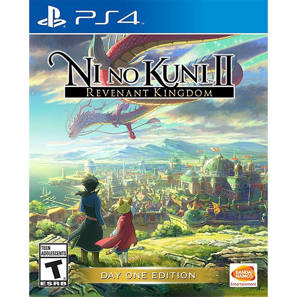 Đĩa game PS4 Ni no Kuni II Revenant Kingdom - Hàng Nhập Khẩu