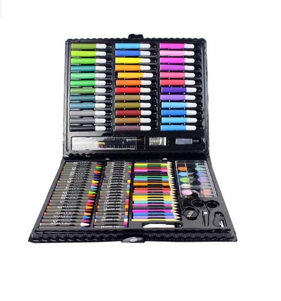 Sách nói điện tử song ngữ và hộp bút màu 150 chi tiết
