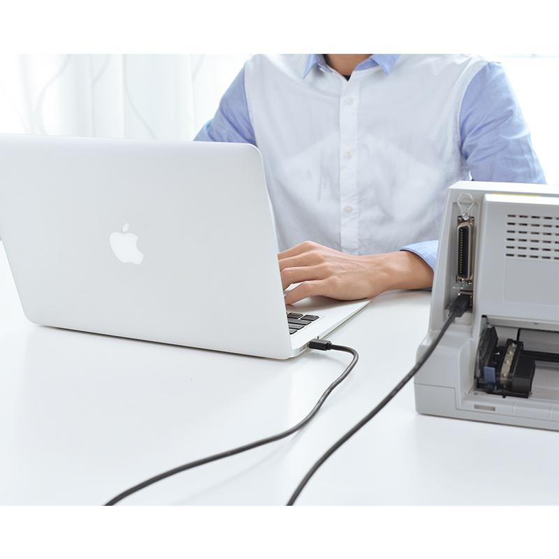 Dây USB Máy In 10M UGREEN  - Cáp Tín Hiệu Máy In - Hàng Chính Hãng