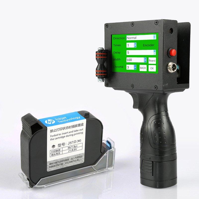 Máy in date cầm tay mini khổ lớn 25.4mm Promax K2 in logo,số lô hàng trên mọi chất liệu - Hàng nhập khẩu