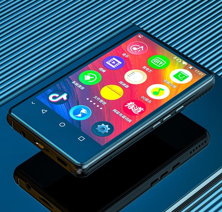 Máy Nghe Nhạc Trực Tuyến MP3 RUIZU H06 Màn Hình IPS Cảm Ứng 4Inch Hệ Điều Hành Android 5.1 Hỗ Trợ Kết Nối Wifi, Bluetooth - Bộ Nhớ Trong 8Gb - Hàng Chính Hãng