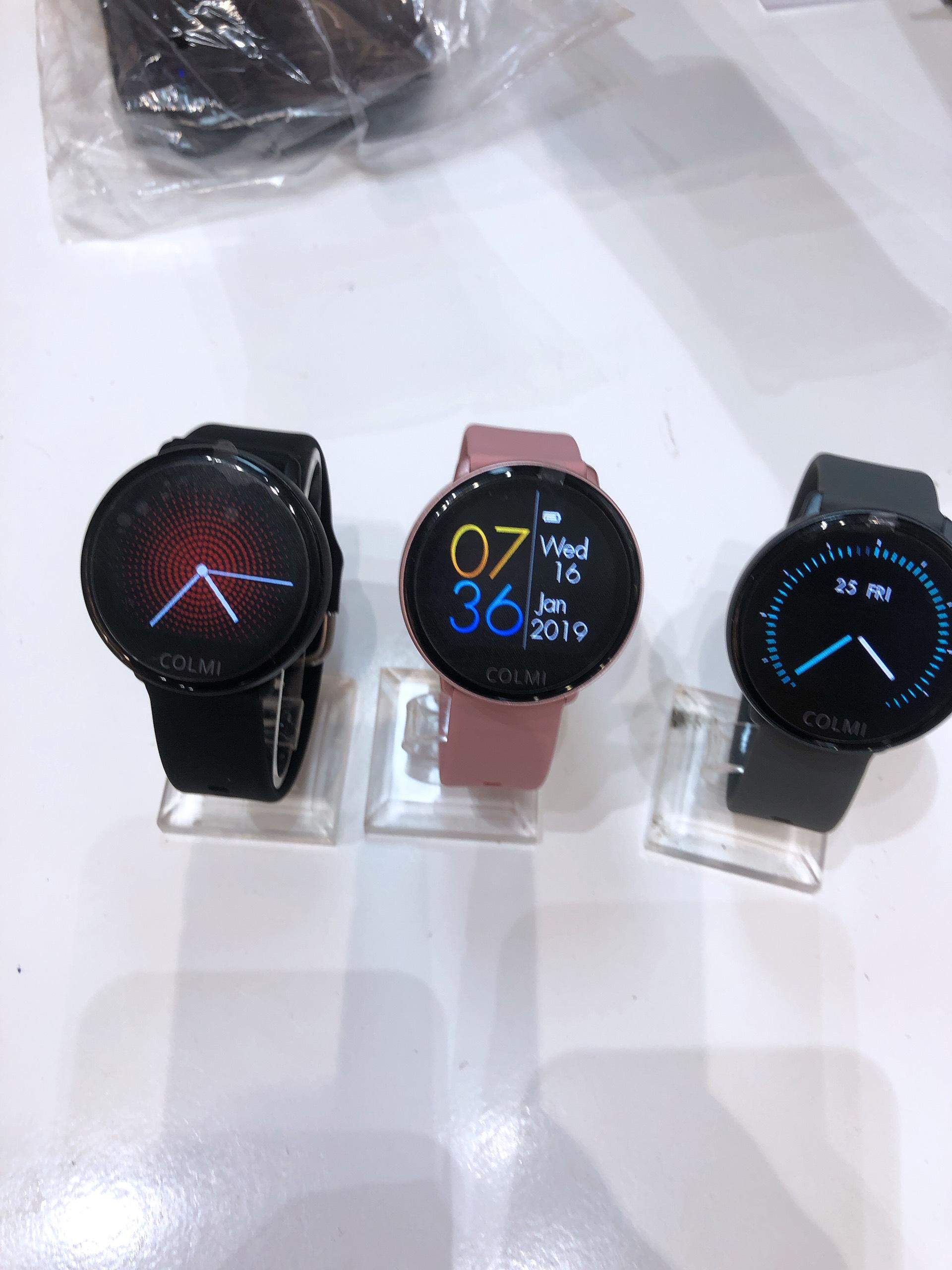 Đồng hồ thông minh COLMI SKY 2- Chính Hãng -MÀU XÁM