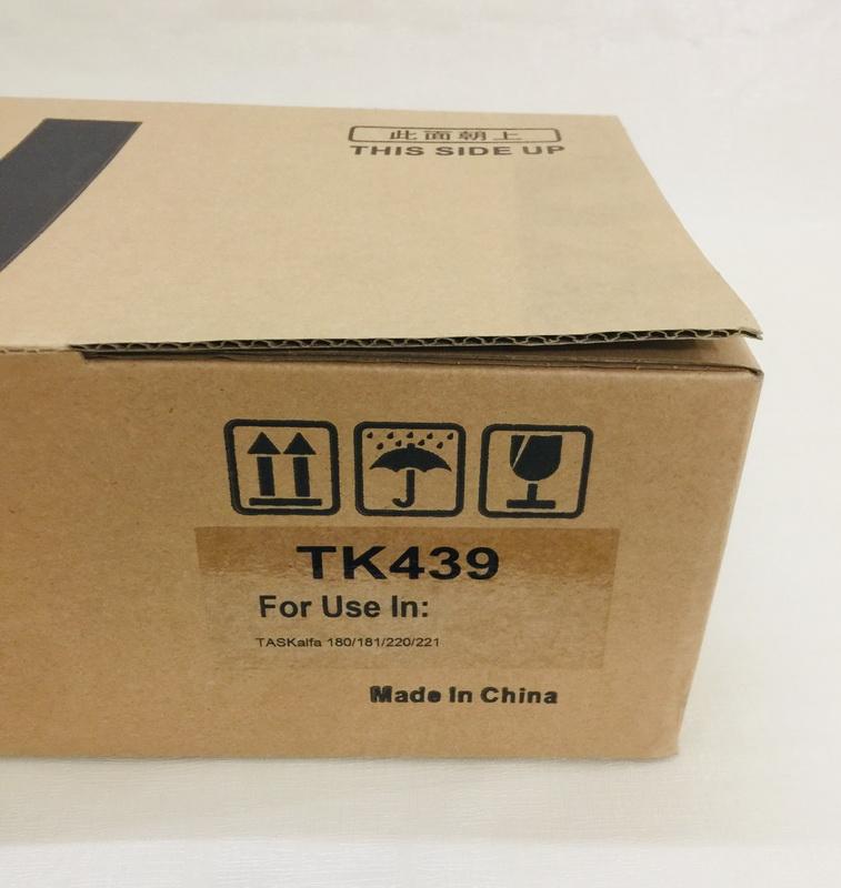 Mực TK 439 ( Tone Cartridge TK 439 ) dùng cho máy  Photocopy Kyocera TASKalfa 180/181/220/221