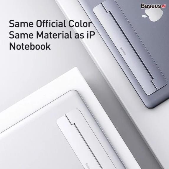 Đế tản nhiệt dạng xếp, siêu mỏng Baseus Papery Notebook Holder LV766 (SUZC)-Hàng chính hãng.