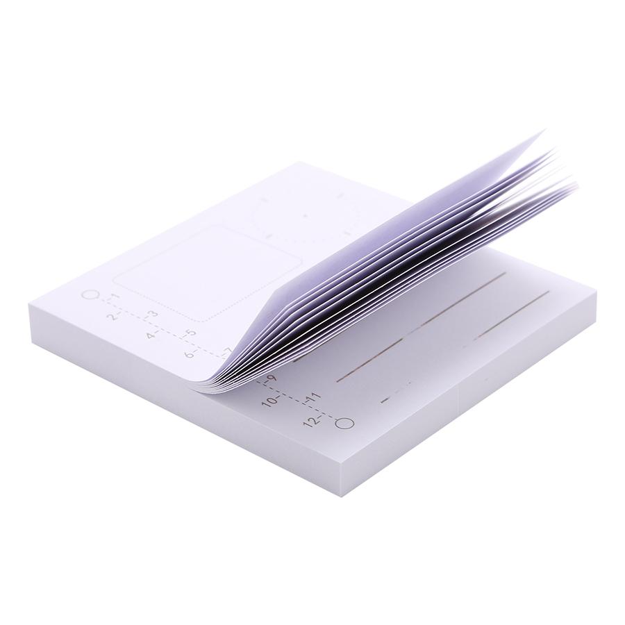 Giấy Note Hình Vuông Kẻ Ngang LB-00063 - Schedule