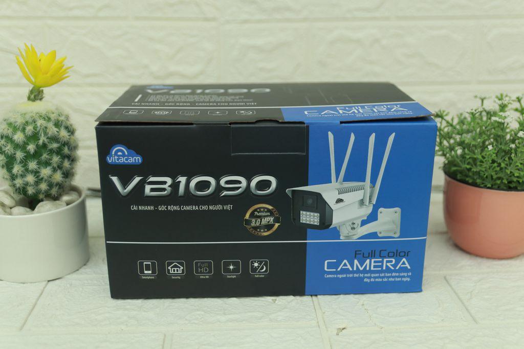 CAMERA NGOÀI TRỜI IP VITACAM VB1090 - 3MPX ULTRA HD 1080 - ĐÈN STARTLIGHT QUAN SÁT MÀU NGÀY ĐÊM - HÀNG CHÍNH HÃNG