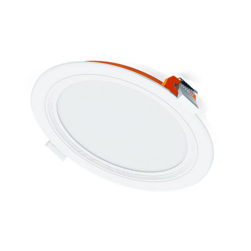 Đèn LED Panel Âm Trần 12W Nguyên Khối Chống Cháy - Hàng Chính Hãng